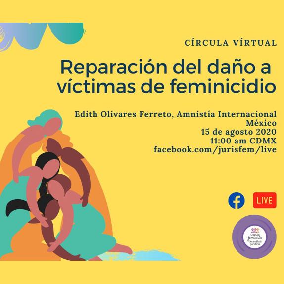 Reparación del daño a víctimas de feminicidio